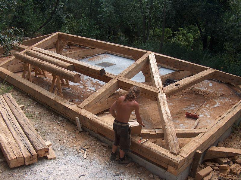 Terrasse bois de recuperation diverses id es de conception de - Vieux materiaux recuperation ...